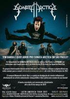 Sonata Arctica: promoção vai escolher banda que irá abrir show em SP
