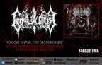"""Corpse Ov Christ: """"To Goat Empire… The Lucifer's Desire"""" está disponível nas principais plataformas digitais mundiais, confira!"""
