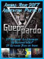 Gueppardo embarca para mais uma tour na Argentina
