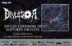 """Divulsor: """"Defiled Corridors of Ruptired Oblivion"""" já está disponível nas principais plataformas de streaming, ouça agora!"""